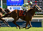 Sky Treasure Upsets in Nassau Stakes