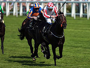 Slade Power with jockey Wayne Lordan win the Diamond Jubilee.