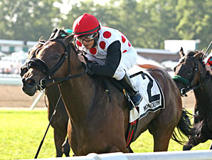 Slew's Exchange wins the Klassy Briefcase Stakes.