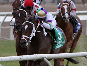Snakebite Kit wins the 2010 LA Champions Day Turf.