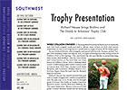 Southwest Regional: Trophy Presentation