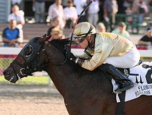 Speak Logistics wins the Florida Stallion Stakes In Reality Division.