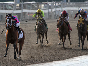 Speedacious wins the 2011 LA Champions Ladies Sprint.
