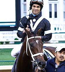 Spelling Again wins the 2015 Chilukki Stakes.