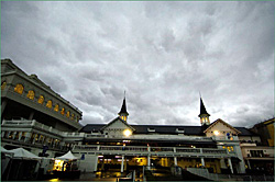 Hard Rain Falling at Churchill Downs