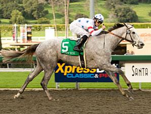 Stardom Bound wins the Las Virgenes.