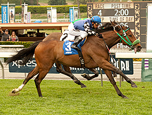 Stormy Lucy Soars to Santa Barbara Victory