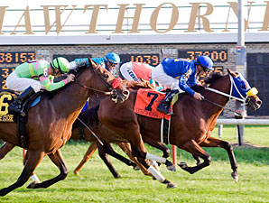 'Mewsina Claws to Hawthorne Derby Upset