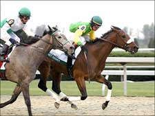 Street Sounds Roars Home in Beaumont; Juvenile Filly Wins Impressively