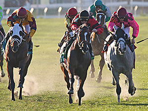 String King wins the 2014 Louisiana Champions Day Turf Stakes.