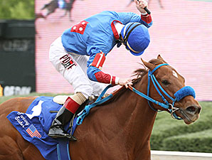 Sugar Shock Surely Best in Fantasy Stakes
