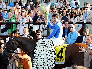 Sires Who Showed Stamina Deliver in Belmont