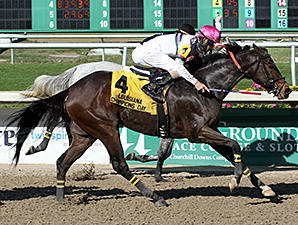 Sunbean wins the 2014 Louisiana Champions Day Classic Stakes.
