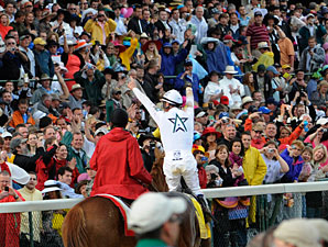 Derby Wagering, Attendance Up Despite Weather