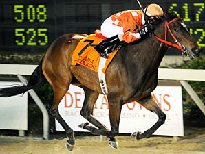 Superior Storm wins the 2009 Premier Night Distaff.