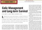 Colic Management and Long-Term Survival