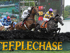 Take Her Tothe Top wins the 2013 Mrs. Ogden Phipps Stakes.