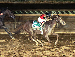 Take It Like a Man wins the 2013 Researcher Stakes.