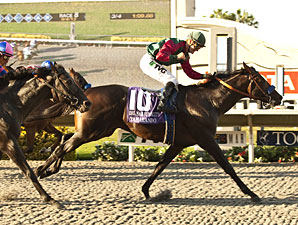 Tamarando Rallies to Take Del Mar Futurity