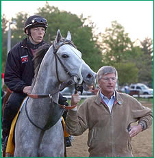 Dickinson and Tapit Bring Comforts of Home to Churchill Downs