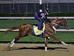 Tapiture preps at Churchill Downs April 21.