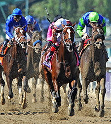 Tapizar an Overpowering BC Dirt Mile Victor