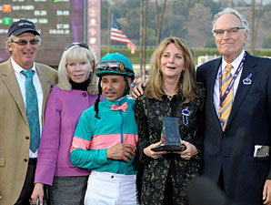 Team Zenyatta Wins Special Eclipse Award