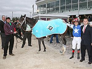 Tepin wins the 2013 Delta Downs Princess.
