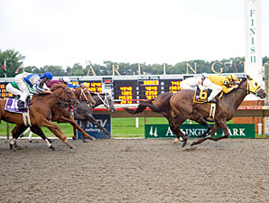 Terrain Wins on Double DQ at Arlington