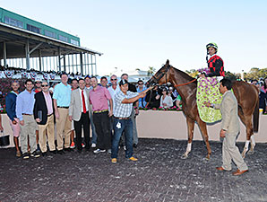 Testa Rossi wins the 2014 Florida Oaks.