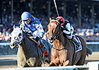 Texas Red, Frosted Likely to Meet in Travers
