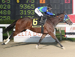 The Best Glacier wins the Fremont Stakes.