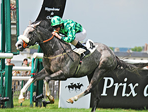 The Grey Gatsby Streaks to French Derby Win