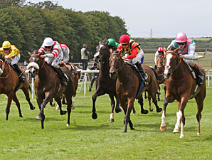 Timepiece Springs Surprise in Falmouth Stakes
