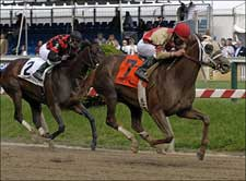 Time's Mistress Upsets Miss Preakness Stakes