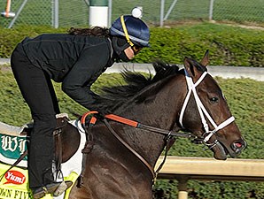 Titletown Five works at Churchill Downs 4/21/2013.