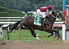 Tizway Puts in &#39;Tremendous Work&#39; at Belmont