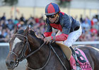 Classic Winner Tonalist Towers Over Suburban