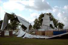Tornado Causes Wide-Spread Damage in Ocala