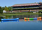 Travers Tie Commemorated With Two Canoes
