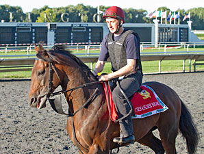 Treasure Beach - Arlington Park, August 17, 2012.