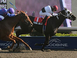 Tribal Belle wins the 2009 Seaway.