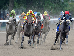 Saratoga's Victory Ride Has Plenty of Speed