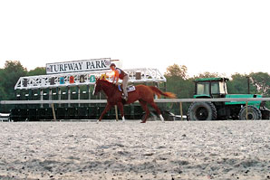 On-Track Handle Declines at Turfway