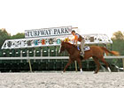Turfway Posts Modest Gains