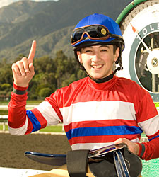 Apprentice Kaplan OK After Santa Anita Fall