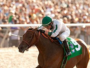 Ultra Blend wins the 2011 Clement Hirsch.