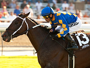 Unbridled's Note wins the 2012 Eddie D.