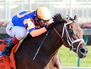 Uncle Mo 'Perfect' in First Breeze