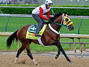 Uncle Sigh preps for the Kentucky Derby April 29.